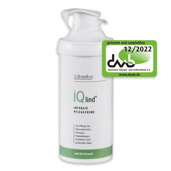 iQlind Intensiv Pflegecreme 500 ml 1