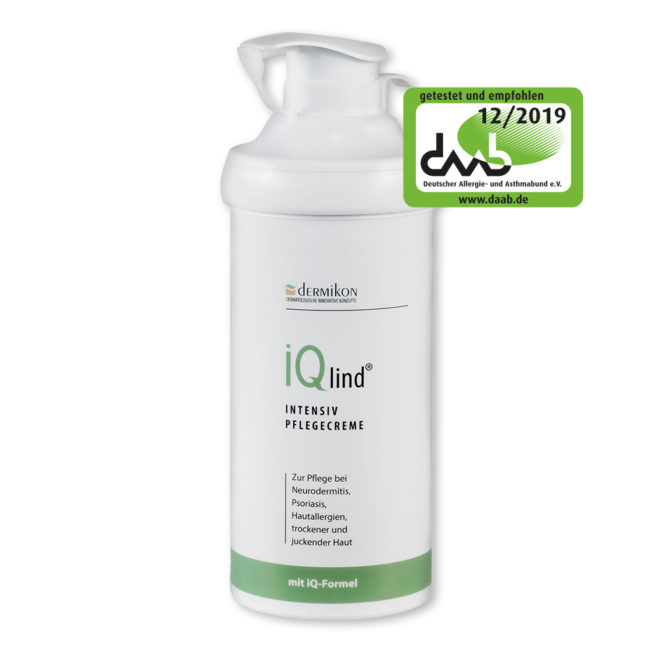 iQlind Intensiv Pflegecreme 500 ml 1